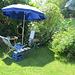 mon atelier au bord du lac en été