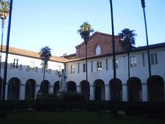Eastern cloister of Saint Francis Monastery.