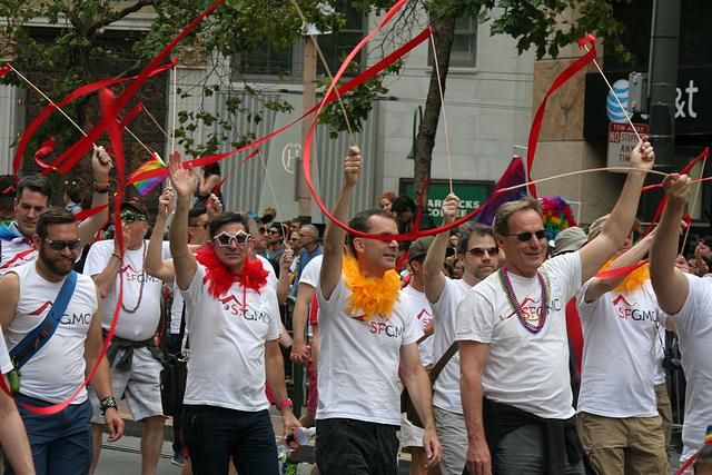 San Francisco Pride Parade 2015 - SFGMC (5828)