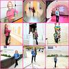 3 x 3 museum poses