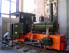 Steam locomotive Pejão (1918).
