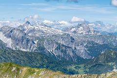 Mosermandl 2680 m and Faulkogel 2654 m