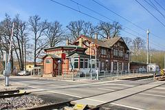 Lübstorf, Bahnhof