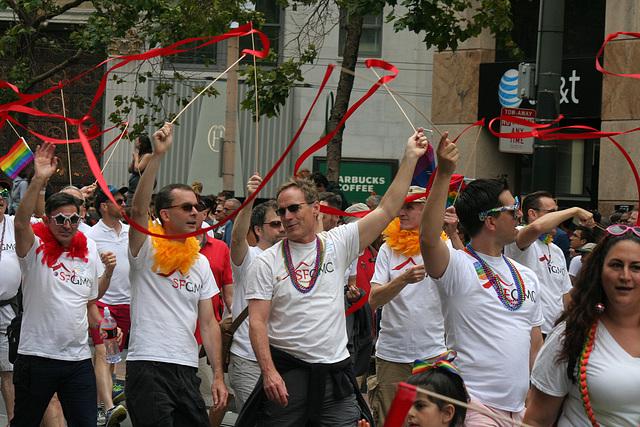 San Francisco Pride Parade 2015 - SFGMC (5827)