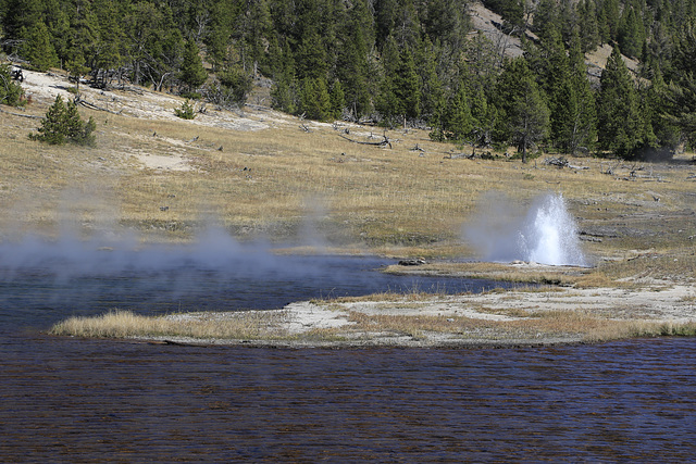 Firehole Lake