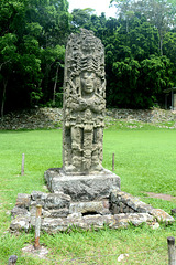 Honduras, Sculpture of One of the Mayan Kings of Copan