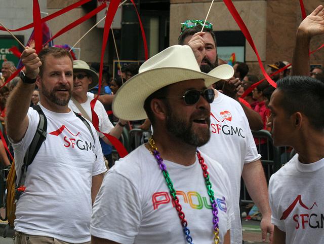 San Francisco Pride Parade 2015 - SFGMC (5824)