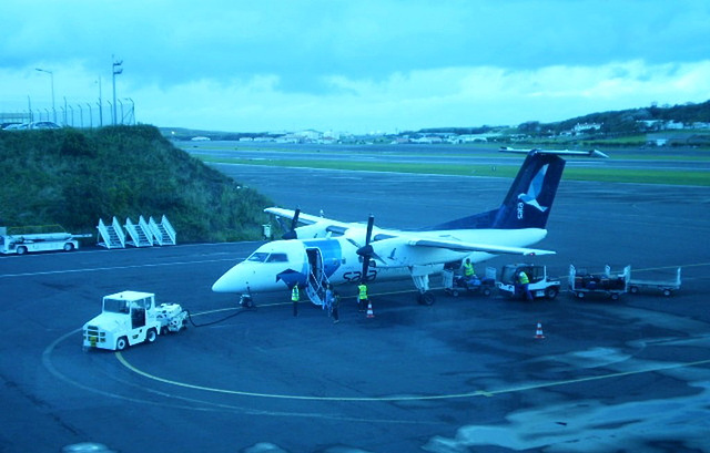 """Aircraft """"Faial"""" - with capacity for 37 passengers."""