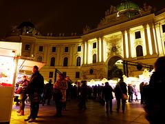AT - Vienna - Christmas Market at Michaelerplatz