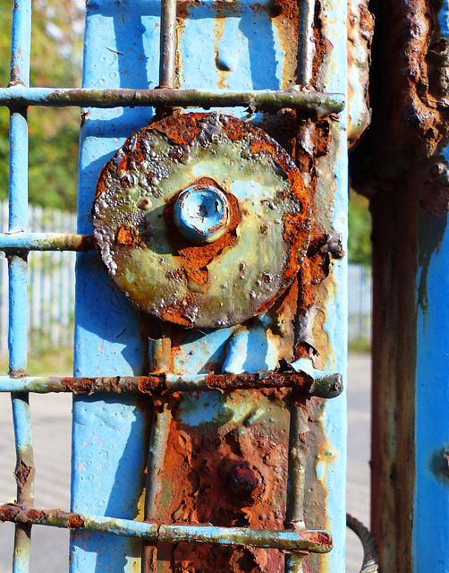 Bubbling corrosion