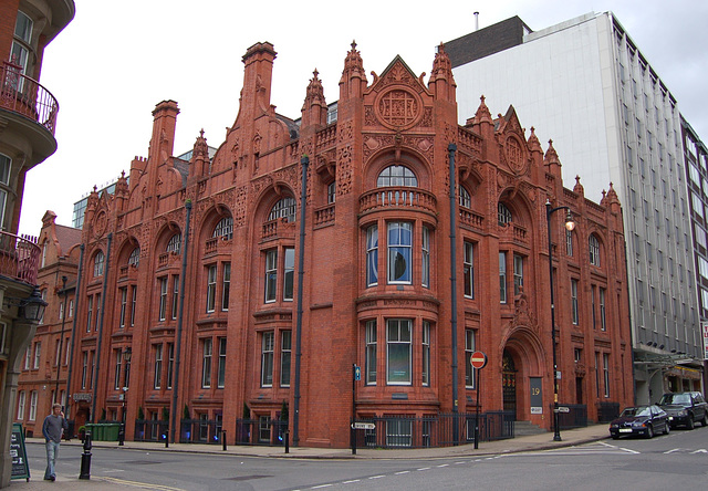 Former National Telephone Company Building, Nos 17-19 Newhall Street, Birmingham (Designed by Frederick Martin 1896)