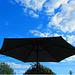 Je suis sous le parasol….
