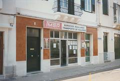Transportes Menorca Bus Office, Mahon (Maó) - Oct 1996 337-05