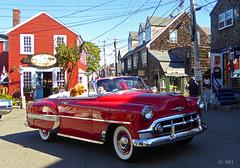 Oldtimer Parade in Rockport