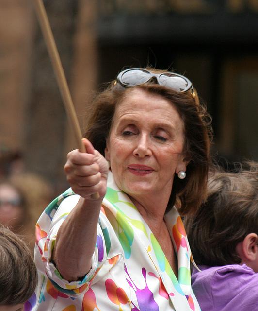San Francisco Pride Parade 2015 - Nancy Pelosi (5610)