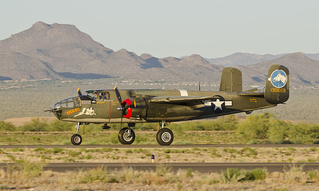 North American B-25J Mitchell N3476G