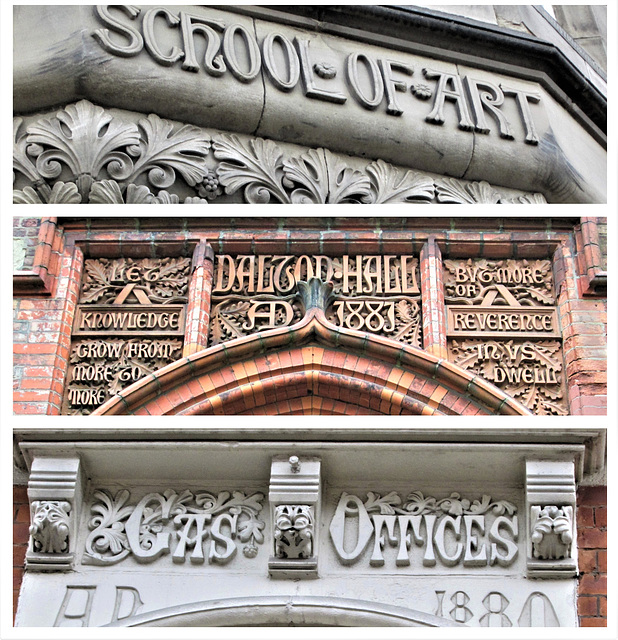 Some great Victorian typography....
