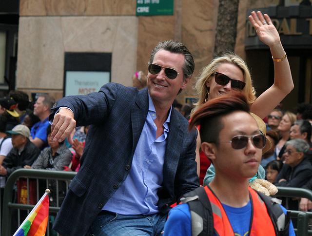 San Francisco Pride Parade 2015 - Gavin Newsom (5668)