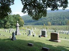 Paysage funéraire