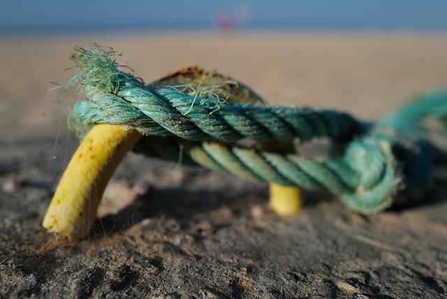 Monte Gordo, Blue rope