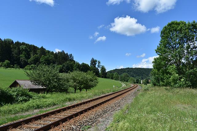 Zwischen Rottenburg und Obernau
