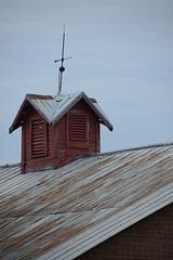 Cupola atop the barn