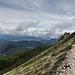 up to the sky 1 - Beginn des Aufstiegs zur Latemardurchquerung