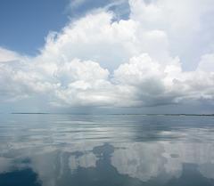 Sky over the Islands of the Zanzibar Archipelago