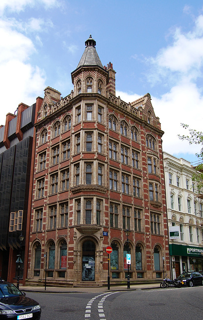 Former Ocean Assurance Building, Temple Row, Birmingham