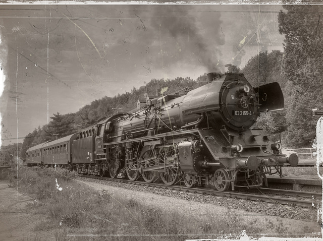 historic train - (find the traitor) - Finde den Verräter! ;-)