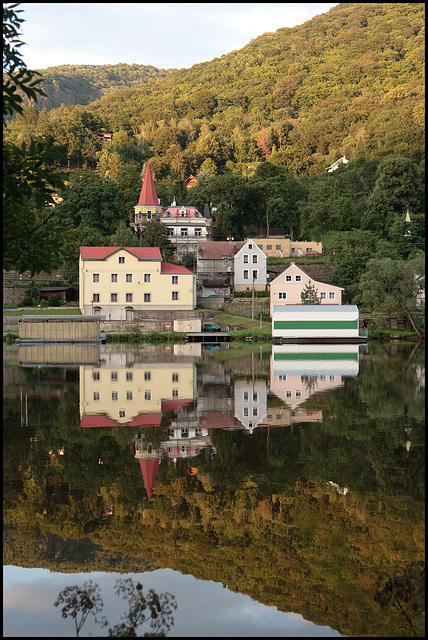 Entering Czech — lake II