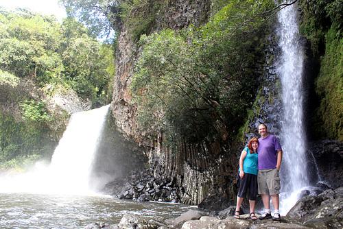 Falls at Bassin La Paix