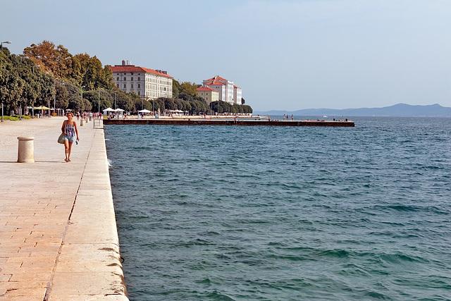 Zadar - Die Uferpromenade (1)