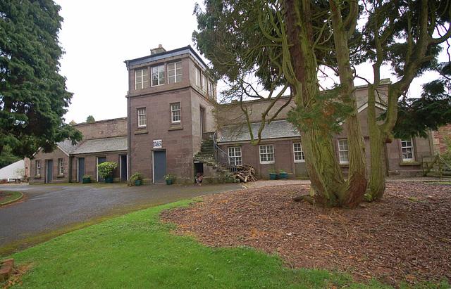 Walled Garden,Stracathro House, Angus, Scotland