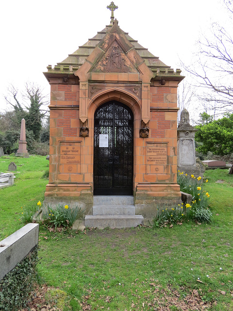 doulton mausoleum, norwood cemetery, london