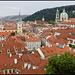 Prague rooftops (pale colour)
