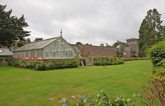 Walled Garden,Stracathro House, Angus, Scotland