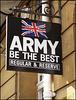 British Army sign