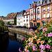 FR - Wissembourg - Lauter at quai Anselmann