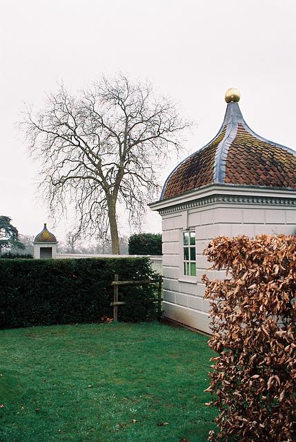 Garden Pavillions, Hanbury Hall, Worcestershire