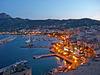 Calvi, der Hafen und die Stadt