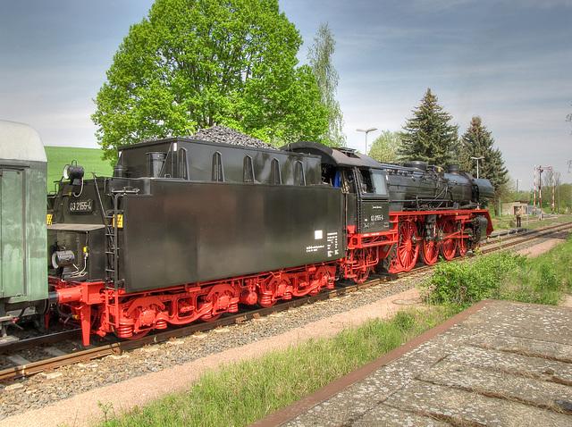03 2155 im Bahnhof Miltitz-Roitschen