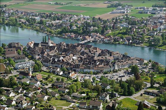 Die Altstadt von Stein am Rhein
