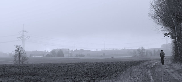 (071/365) Today a misty and fogy day.