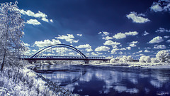 Elbebrücke  bei Wittenberg