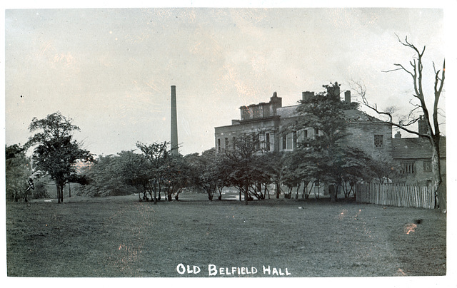 Old Belfield Hall, Rochdale, Greater Manchester (Demolished c1916)