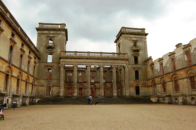 Entrance Front, Witley Court, Worcestershire