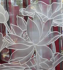 Gravure sur verre / Glass carving