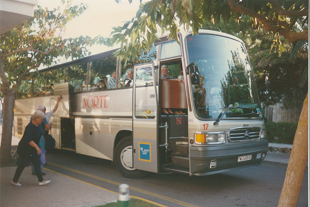 Norte (Menorca) 17 (PM 2489 AU) - Oct 1996 337-25