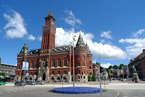 Sweden - Helsingborg, town hall